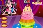 Декор высокого торта